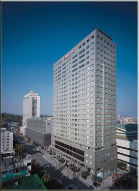 Korean Apartment Building - ESL in Korea