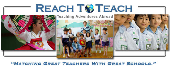 ReachToTeach - Teaching Adventures Abroad!