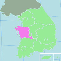 Chungnam Province Map - ESL Abroad