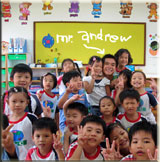 Andrew Wang - English Teacher in Taiwan