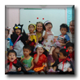 ESL Students during Halloween - Teaching English in Taiwan