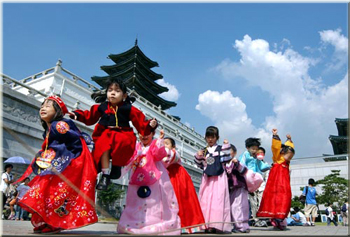 South Korean children honoring their ancestors - ESL Abroad