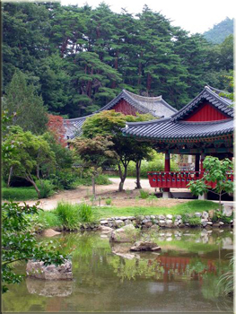 History of korea teaching english in korea for Garden design history