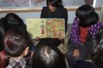 Uzma Ali with her class in South Korea