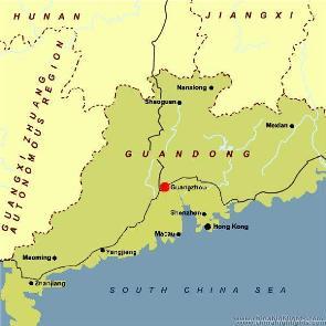 Guangzhou location