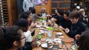 South Korea BBQ Night with Reach To Teach