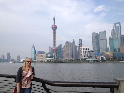 Teacher Jena in Shanghai
