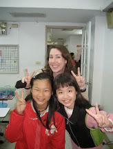 Carrie Kellenberger Teaching in Taiwan