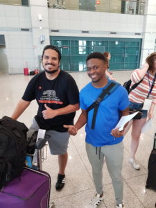 Wann and Jujuan are new teachers that moved to Korea in August 2019 to teach English with EPIK.