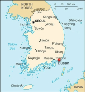 Seoul Korea Map In English.Teach English In Busan With The English Program In Korea Epik