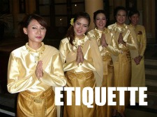 Thailand Country Guide - Etiquette