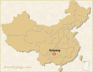 Guiyang location