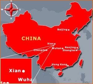china_map_xian