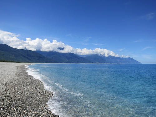Beach in Hualien