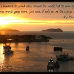 Inspirational Travel Quote of the Week: Ryu Murakami
