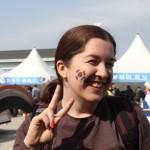 Tiffany Molyneux loves Korea