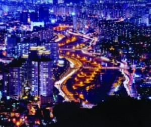Daegu City at Night