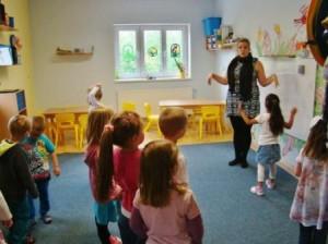 Liane Nichols teaching English in Georgia