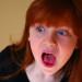 Shocked girl