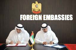 UAE Embassies