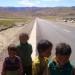 Street Kids on a road
