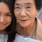 Judith Villarreal and Korean woman