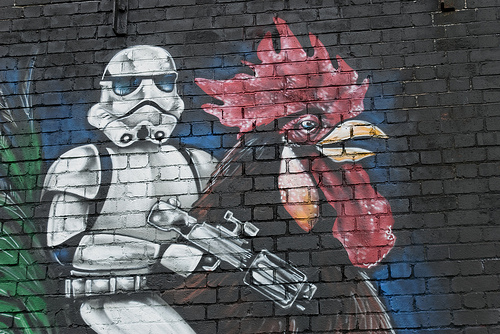 star wars chicken