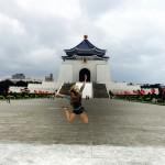Sara Adam and Chiang Kai Check