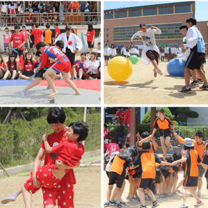 School activities Korea