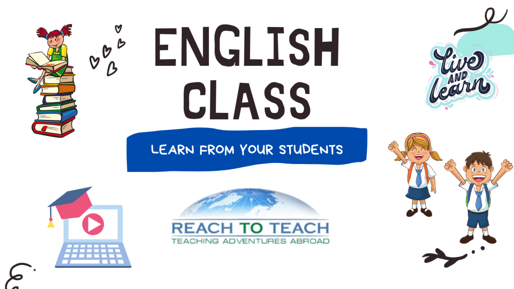 Learning From Your Students in the ESL Classroom