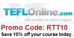 TEFL Online Logo Promo Code