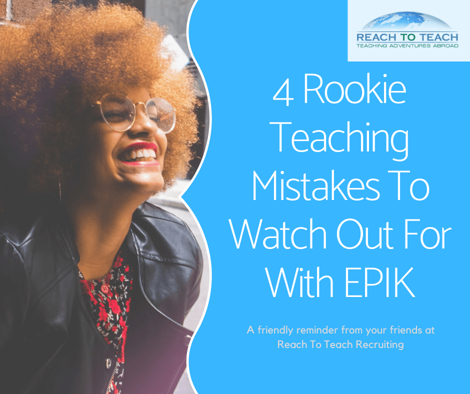 Teaching Mistakes with EPIK - Reach To Teach