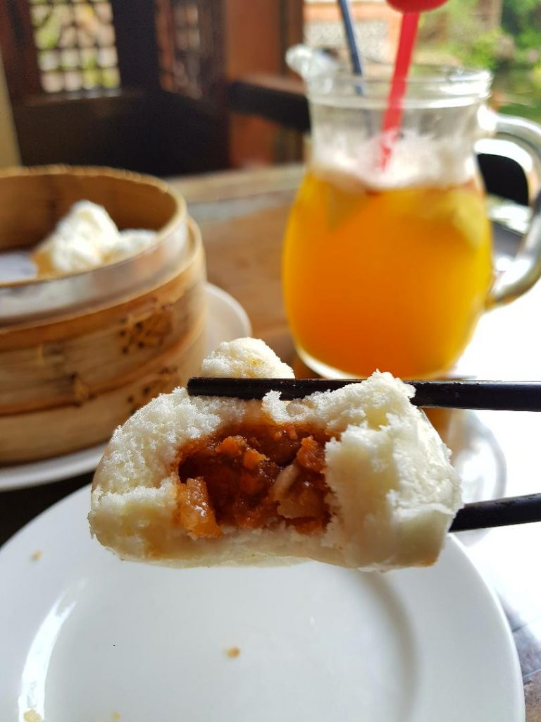 Dim Sum BBQ Pork Bun from Taiwan