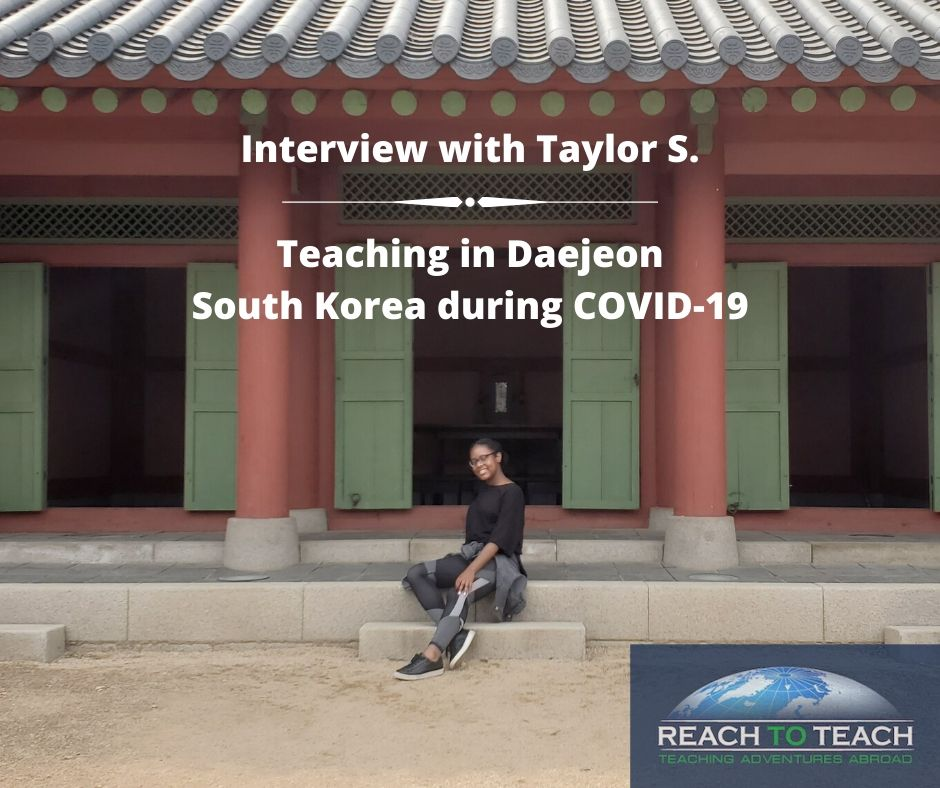 Teaching in Daejeon South Korea During COVID19