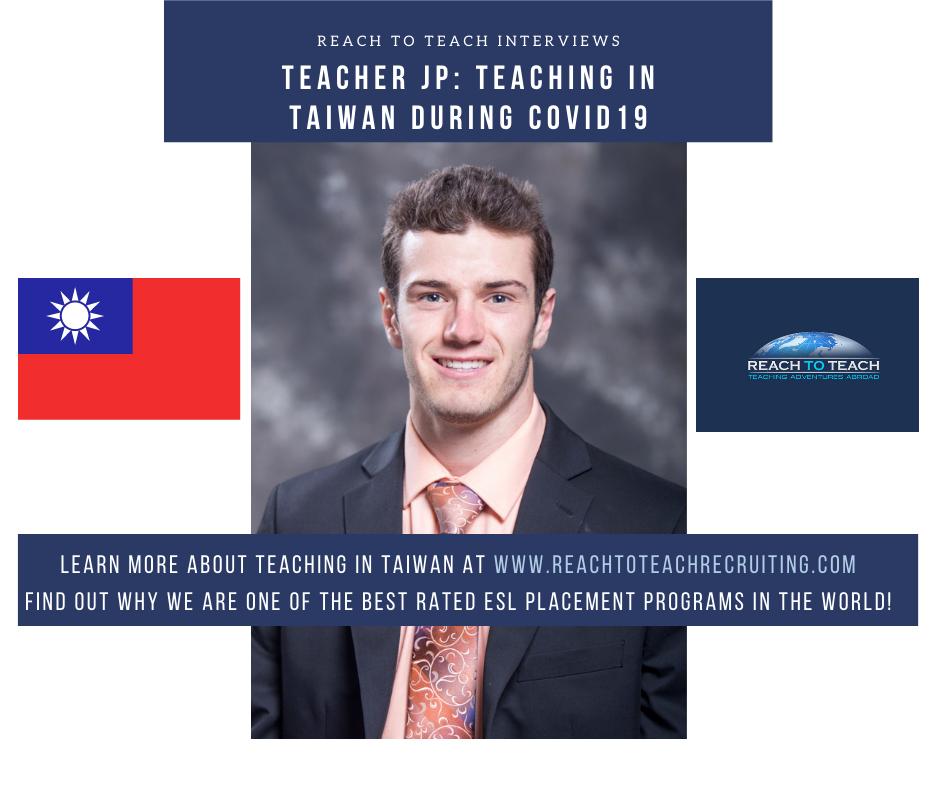 Teaching in Taiwan in 2020 During COVID19